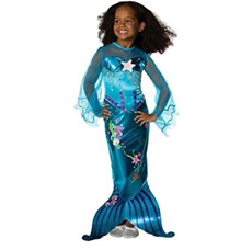 TPRPCO Girl s Mermaid Tails Dress Costumes For Kids Halloween Party Costume Cosplay Size M-XXXL