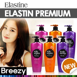 BREEZY ★ [Elastine] Premium Silk Repair Shining Shampoo / Recovery / Scalp therapy / Shampoo / Conditioner / Hair Care / Korean Cosmetic / Korean Beauty / Made in Korea