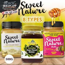 ★ Buy 2 Free Shipping ★ Sweet Nature/ Superfarm 9 Types Honey 500G PROMO!