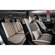 High Quality Full Complete Car Seat Cover Set Car Seat Linen Cushions Supplies Automotive Interior Set 5-Seats - 3 Colors