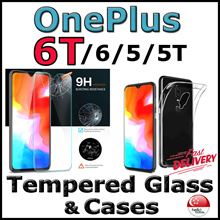 ★OnePlus 6T/6/5T/5★ Cases / Tempered Glass Screen Protector - Local SG Seller