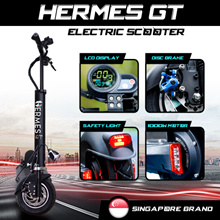 HERMES GT | 52V 1000W MOTOR | 21AH - 65KM RANGE | SINGAPORE BRAND | FRONT SUSPENSION