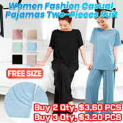 2021 spring and summer new pajamas casual suit womens thin fashion two-piece suit home service
