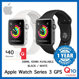 [Clearance Sales] Apple Watch Sports Series 3 / 38mm 42mm available / Black and White available