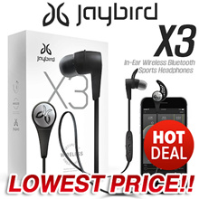 ★HOT DEAL!!★ Jaybird X3 Sport Bluetooth Headset Wireless In-Ear Headphones for iPhone and Android