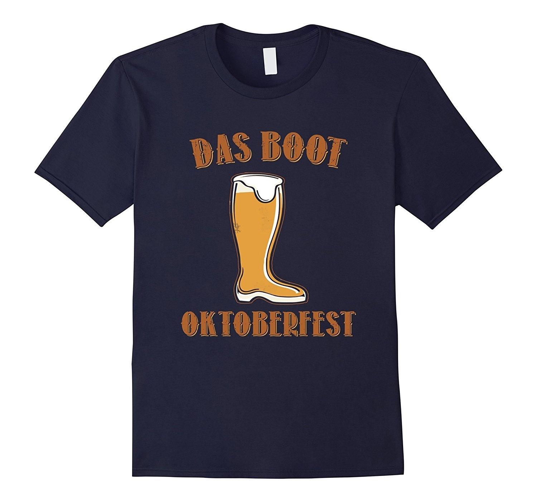 Oktoberfest Das Boot Black Adult T-Shirt