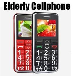 Elderly Mobile Phone SOS Big Button Keyboard  Voice Mobile Phone/Elder Man Cellphone