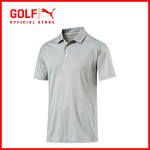 PUMA GOLF Men Ess Pounce Polo - Cresting - Quarry ★ FREE DELIVERY ★ AUTHENTIC ★ 7 DAY RETURNS