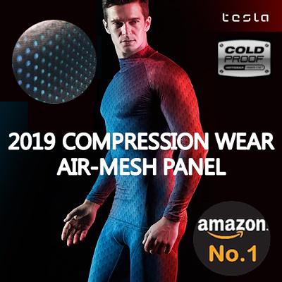 7a01865f8 ☆2019 NEW☆ Tesla compression sports wear Underlayer sleeve t-shirt long  pants short
