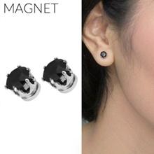 [ANTING] Minimalist Diamond Magnet Earrings