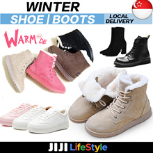 ♥Warm WINTER FUR BOOTS Shoes /Padding/Fur Boots/Female Boots Ladies shoes SPECIAL♥SALE★