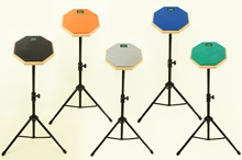 Drum Practice Pad 8inch /12 inch Music Instruments/ With Or Without Stand