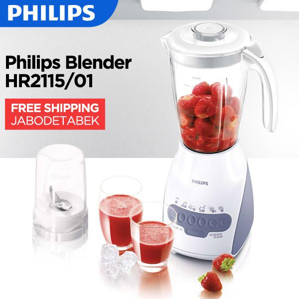 Philips Blender HR2115/01 _ Free Ongkir Only Jabodetabek Deals for only Rp633.000 instead of Rp633.000