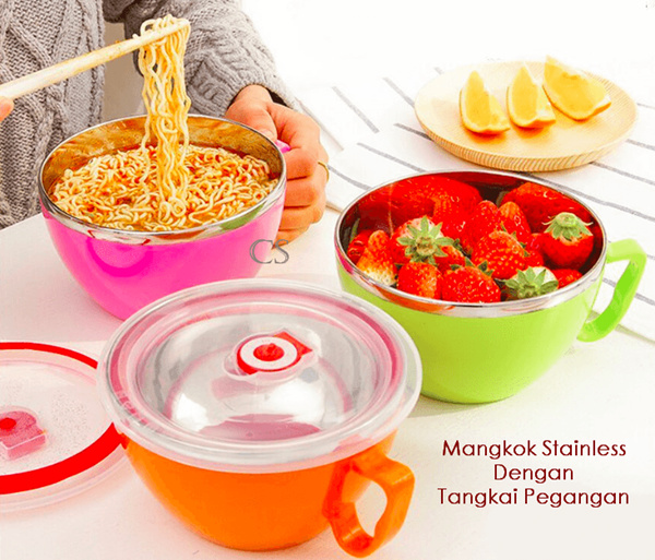 Cangkir Stainless / Fresh Bowl Stainless / Mangkuk Stainless Deals for only Rp34.000 instead of Rp34.000