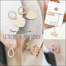 [Laurenco] 💕 Sep.  New update!! 💕 Trendy Luxurious Korean Style Earrings / Ring / Bracelet