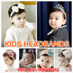 BUY 5 IN 1 SHIPPING/ Korea cute baby girls hair band infant childrens hair accessories 0-9-12 months headbands
