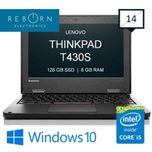 [Refurbished] LenovoThinkpad T430s/ IntelCore I5 3rdGen / 128SSD / 4GBRAM / Wins10/ 30 days Warranty