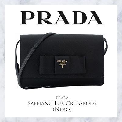 501db74031 COUPON · [Live10 APP Lucky Auction $1 ] Prada Saffiano Lux Crossbody (Nero)