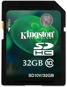 正常品 Kingston SDHCカード 32GB Class10 (永久保証) SD10V/32GB HD フラッシュメモリカード