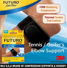 3M FUTURO™ Tennis Elbow Support / Golfers Elbow / Tendonities / Joint Pain / Swell / Injury