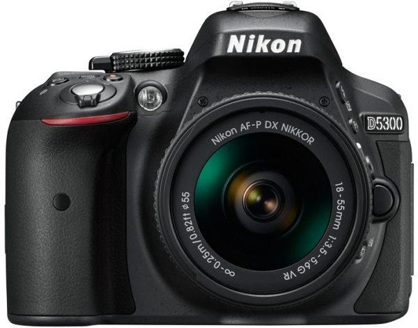 【正品保證】 Nikon D5300 AF-P 18-55mm VR入門級單眼數位相機-連鏡套裝/ 內鍵Wi-Fi / 手機APP操作/ 內鍵GPS / 可製作追踪紀錄