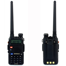 BaoFeng UV-5R Dual Band VHF136-174MHz/UHF400-480MHz 5W 128CH LCD Display Radio Walkie Talkie