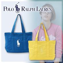 [POLO RALPH LAUREN / Ralph Lauren] popular tote bag assortment (all 32 color) SCHOOL BAG