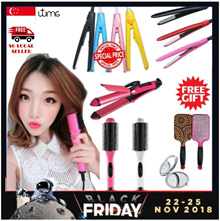 [Free Gifts] Hair Straightener | Curler | Hair Brush | Hair Roller | Hair Treatment