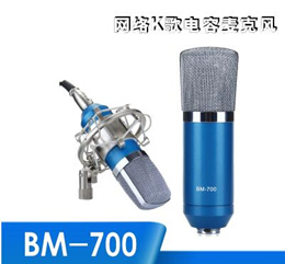 High Quality Wired Condenser Sound Recording Microphone Microfone W/ Shock Mount for Chatting Singin