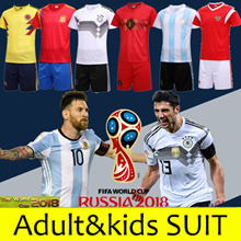 FIFA World Cup 2018 SOCCER JERSEY Germany / Spain / Argentina Messi Ramos Kroos Men SET/Sport