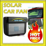 Solar Powered NEW Car Auto Air Vent Cooling Fan System