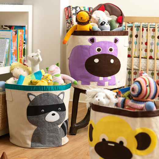 Qoo10 Baby Toy Storage Box Children