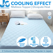 Cooling mattress topper / Dissipate Heat / Popular in Japan! Cotton Protector Mat /Blanket