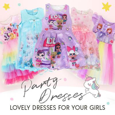 cad9fe80e1 BNG Junior3-8Y GIRL PARTY DRESSES NEW DESIGNS 19 MAR! FROZEN PRINCESS SOFIA  MY LITTLE PONY UNICORN