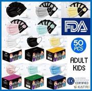 MIYU[Individual Pack] Premium Face Mask 50pcs / Direct From Korea / Adult / Kids