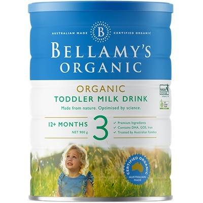 6 Tins of Step 3 Organic Toddler Milk Drink