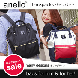 【Clearance Sale】❤NO Hidden Price ❤Fast delivery!Japan ANELLO BACKPACK ❤ PU BACKPACK / Mummy