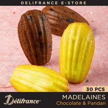 Delifrance Bundle Of 30 Chocolate And Pandan Madeleines