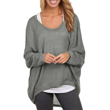 5e88d1a95 Quick View Window OpenWishAdd to Cart. rate:0. authentic 2019 Autumn T  Shirt Women T-Shirt Oversize Casual Loose Batwing Long Sleeve Tops female Ju