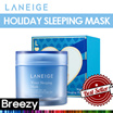 BREEZY ★ [LANEIGE] 2015 Holiday Water Sleeping Mask 70ml /