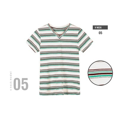 V-neck stripe 5