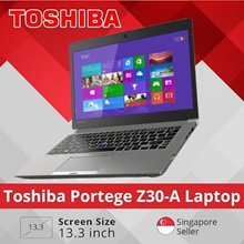 Refurbished Toshiba Portege Z30-A 13.3inch Laptop/ i7 / 8GB RAM / 512GB SSD / Win 10/ 1 mth warranty
