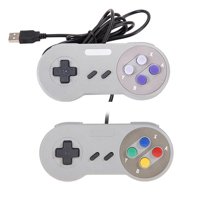 Game Controller For Super SNES USB Classic Gamepad for PC MAC Games for  Win98/ME/2000/2003/XP/Vista/
