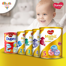 DUMEX Mamil Gold Step 2-5 / Dupro Regular Step 2-5 / Mamil Gold Soy HA2 / Mama Milk (850g and 1.6kg)