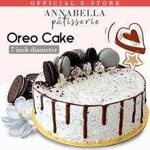 Oreo cream Cake / 7inch / 3 pcs Macarons / 3 pcs Oreo