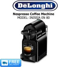 DELONGHI - Nespresso Coffee Machine - MODEL: INISSIA EN80 - FREE DELIVERY!