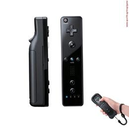 New Top Quality Black Wireless Remote+Silicone Case+Wrist Strap for Nintendo Wii