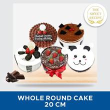 [DESSERT] The Sweet Recipe Whole Round Cake 20 Cm