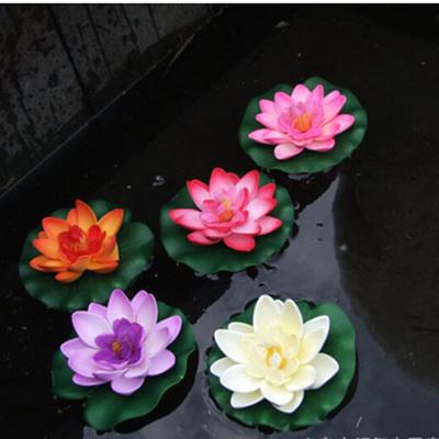 Qoo10 1pcs Decor Garden Artificial Fake Lotus Flower Foam Lotus
