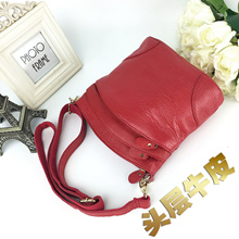 Shoulder Sling Bag For Women Girls Genuine Cow Leather Casual Fashion